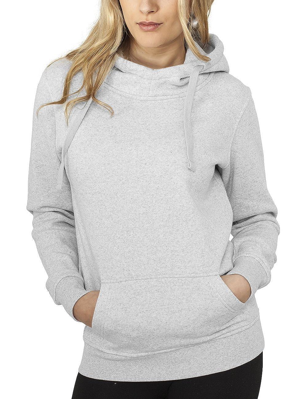 TALLA XL. Urban Classics Bekleidung Ladies Melange Hoody Sudadera para Mujer