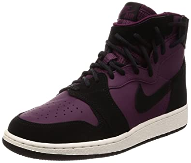 new concept 14490 a02d8 Amazon.com | Nike Air Jordan 1 Rebel XX Bordeaux/Black-Black ...