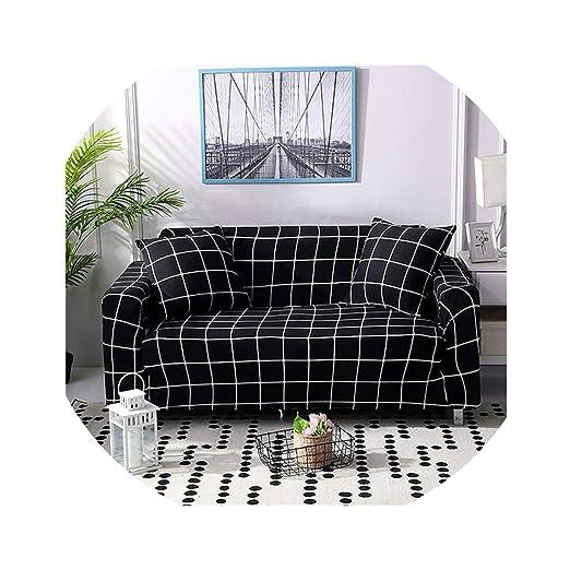 Fundas de sofá elásticas con Estampado Floral, elásticas ...