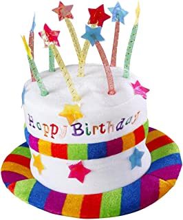 Novelty Happy Birthday Hat Fancy Dress Accessory Amazoncouk Toys