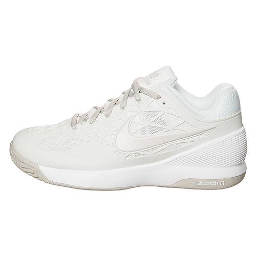 Nike Wmns Zoom Cage 2 EU, Zapatillas de Tenis para Mujer, Azul (Blchd LLC/Hypr Vlt-Lght Slvr-V), 40 EU