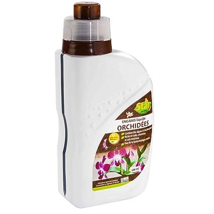 Star jardín 08145 – Fertilizante líquido orquídea color blanco 500 ml