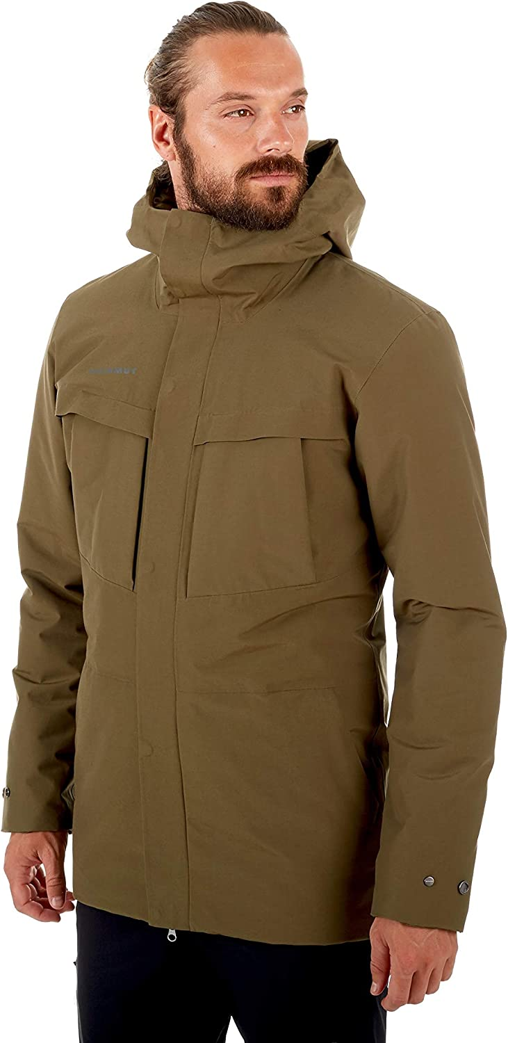 Mammut 1010 26400 Mens Chamuera Hs Thermo Hooded Parka Active Performance Shells