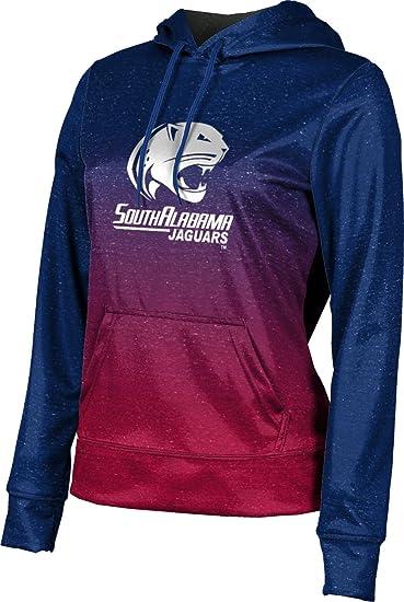 School Spirit Sweatshirt ProSphere University of South Alabama Girls Pullover Hoodie Gradient