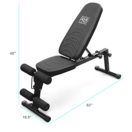 Wonderful Marcy Pro Adjustable Exercise Weightlifting Workout Utility Weight Bench  With Leg Developer And Foam Roller Pads