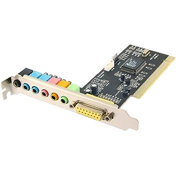 Amazon.com: Sabrent SND-P8CH tarjeta de sonido PCI: Electronics