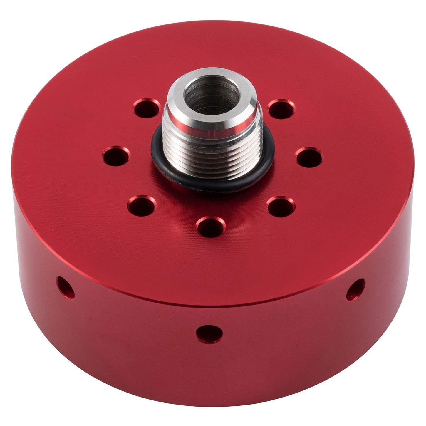 Opall Fuel Filter Adapter Refit Head Red Auto 02 Chevy Duramax Housing Amazon Prime