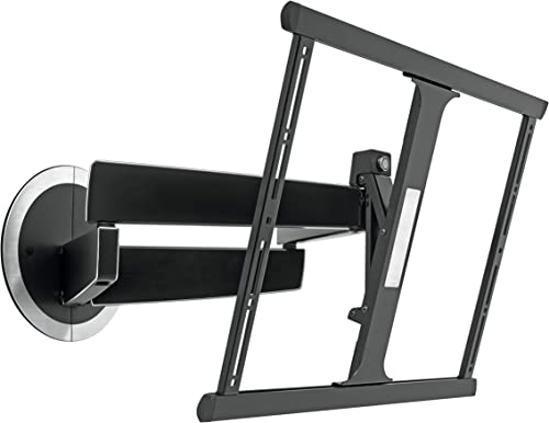 Vogel s Full Motion TV Wall Mount, Swivel and Tilt – for 40 to 65 inch TV, Next 7345, Black