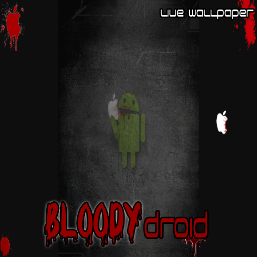 Live Wallpaper - Bloody AnDroid -