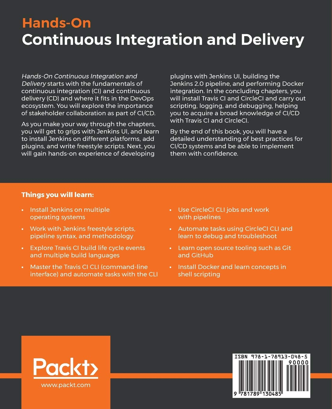 Buy Hands-On Continuous Integration and Delivery: Build and
