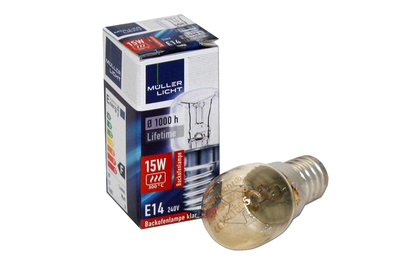 Kühlschrank Licht 15w : Glühbirne für backofen stück müller licht watt e klar