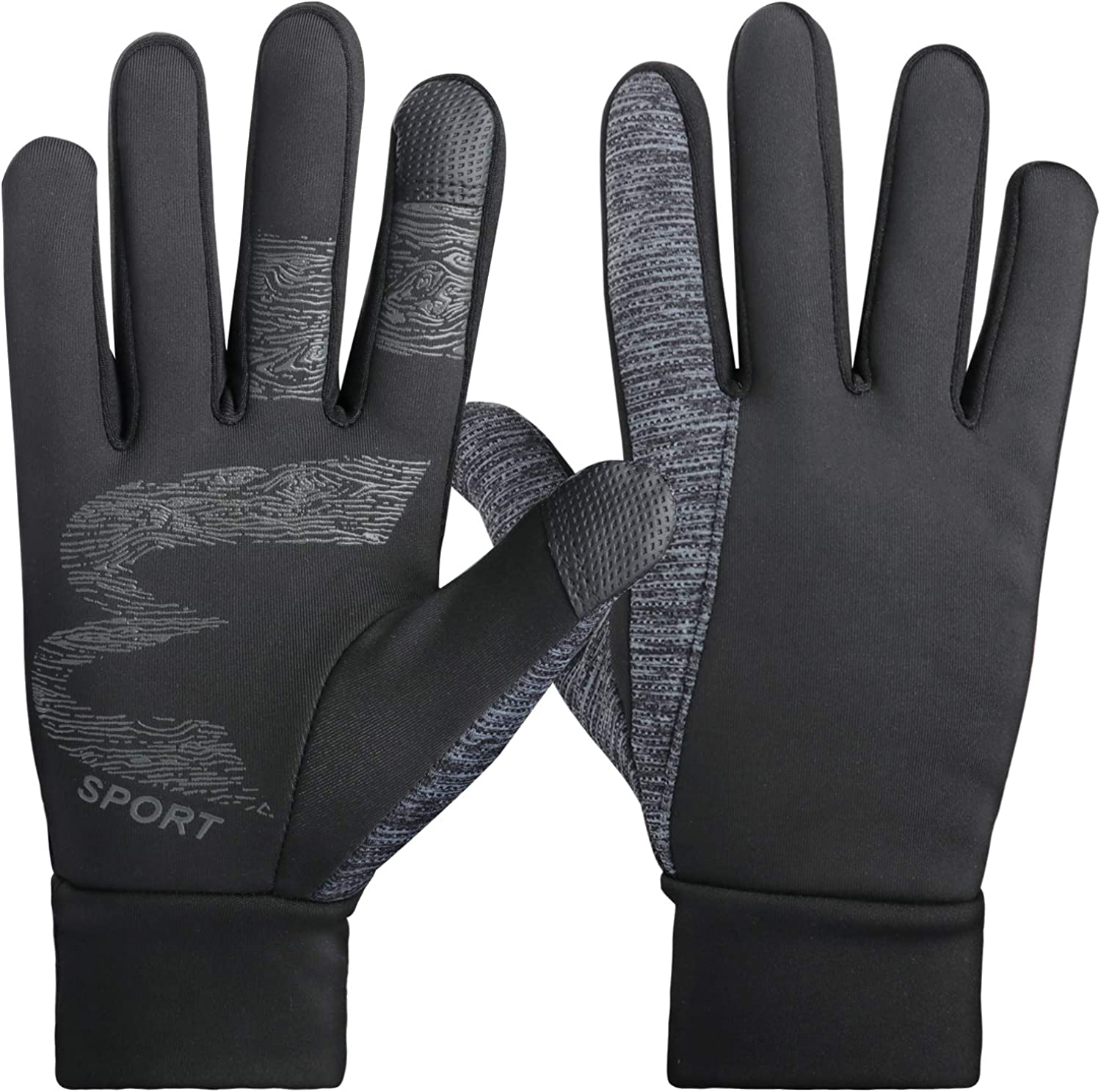 Winter Gloves for Men Women Touchscreen Windproof for Running Cyling Training Workout