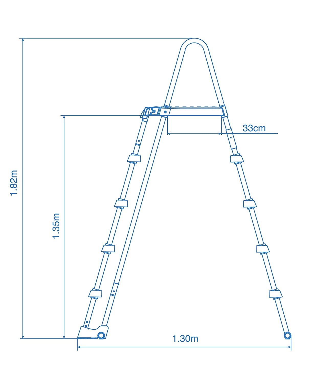 Intex 28352 Ultra Frame Piscine hors sol 549 x 274 x 132/cm