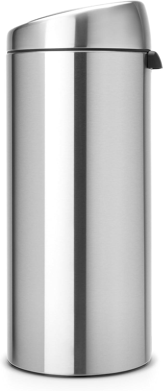 Brabantia 30 Litre Soft Touch Bin - Matt Steel
