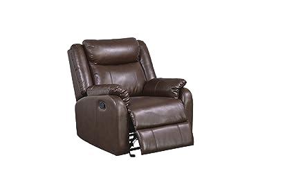 Marvelous Global Furniture Glider Recliner Brown Machost Co Dining Chair Design Ideas Machostcouk