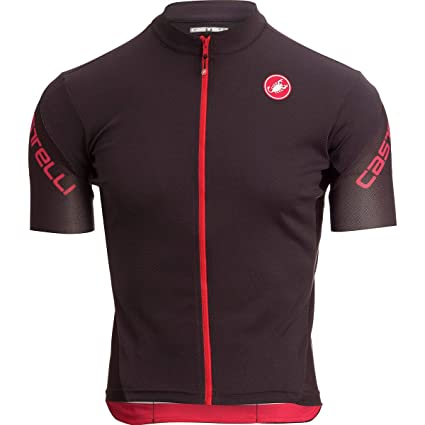 Castelli Entrata 3 Limited Edition Full-Zip Jersey - Men s  Anthracite Black 86f87f013
