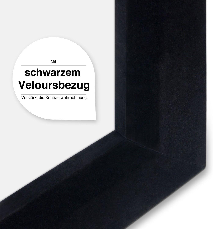 16:9 eSmart Germany MIRALE AKUSTIK Rahmen-Leinwand Heimkino Beamer Projektionsleinwand Rahmen Leinwand LCD LED 295 x 165 cm Gr/ö/ßenauswahl Vollmaskierung 133