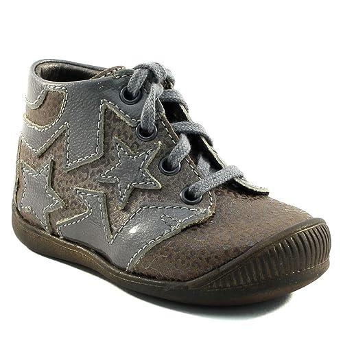 Little MaryAdele - Mocasines para Bebés que ya se tienen de pie Bebé-Niños , beige (beige), 18 EU: Amazon.es: Zapatos y complementos