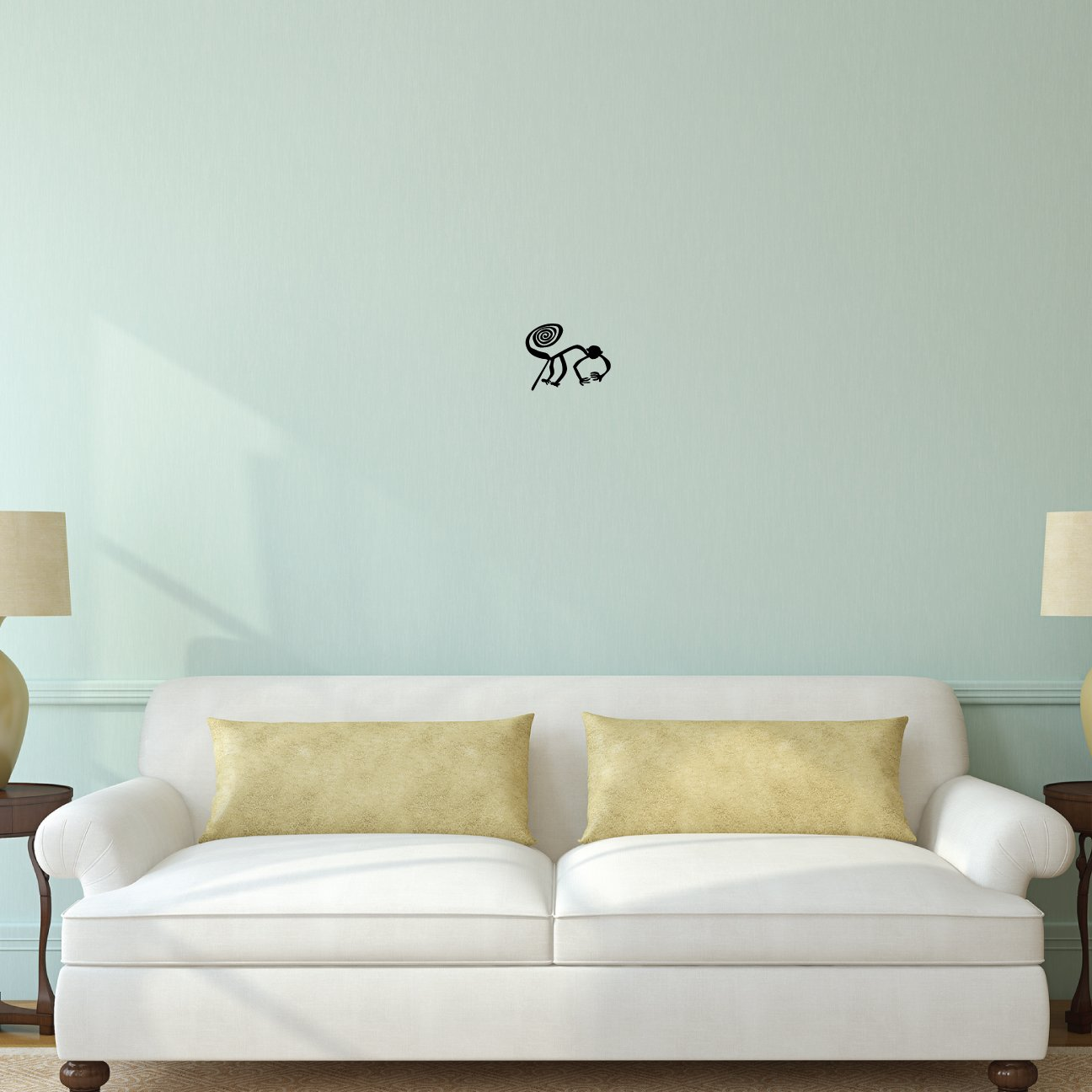 Amazoncom Nazca Lines Monkey Wall Decal Sticker Decal - Vinyl decals for the wall