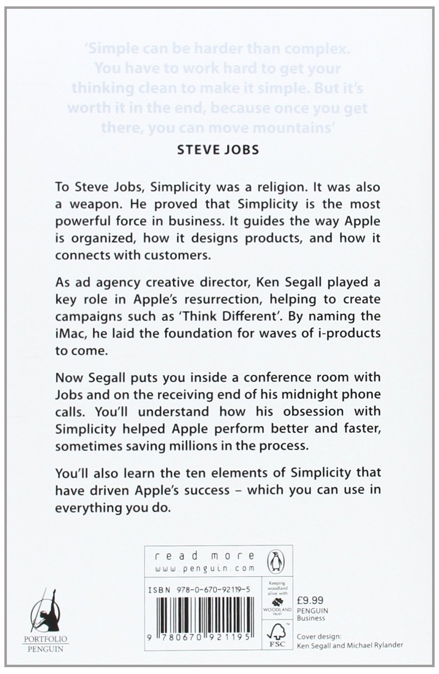 insanely simple the obsession that drives apple s success  insanely simple the obsession that drives apple s success co uk ken segall 9780670921195 books