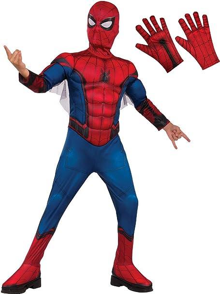 Amazon.com: Spiderman - Disfraz infantil de Spiderman, color ...