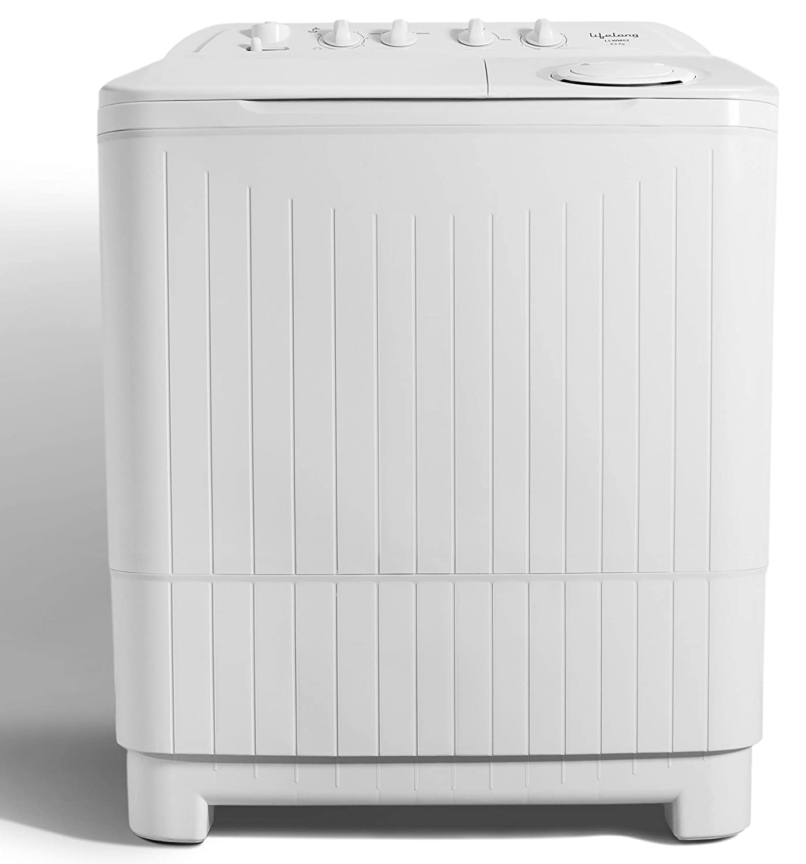Lifelong 8.5 Kg Semi-Automatic Top Loading Washing Machine (LLWM02, White)
