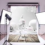 Thin Vinyl Studio Christmas Backdrop CP Photography Prop Photo Background 5x7FT ZZ107