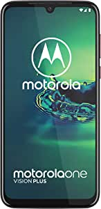 Motorola One Vision Plus, 4GB RAM, 128GB Internal Memory, Dual SIM (Amazon Exclusive) - Crystal Pink