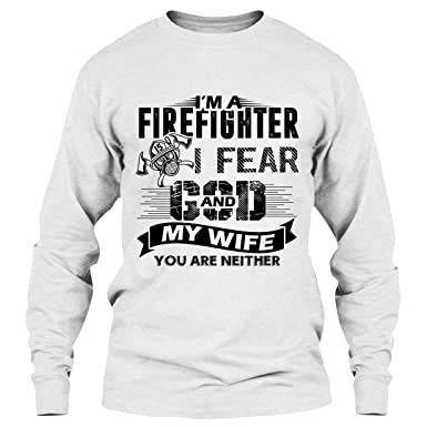 586078a0 Firefighter T Shirt - I'm A Firefighter Cool T Shirts Design Long Sleeve (