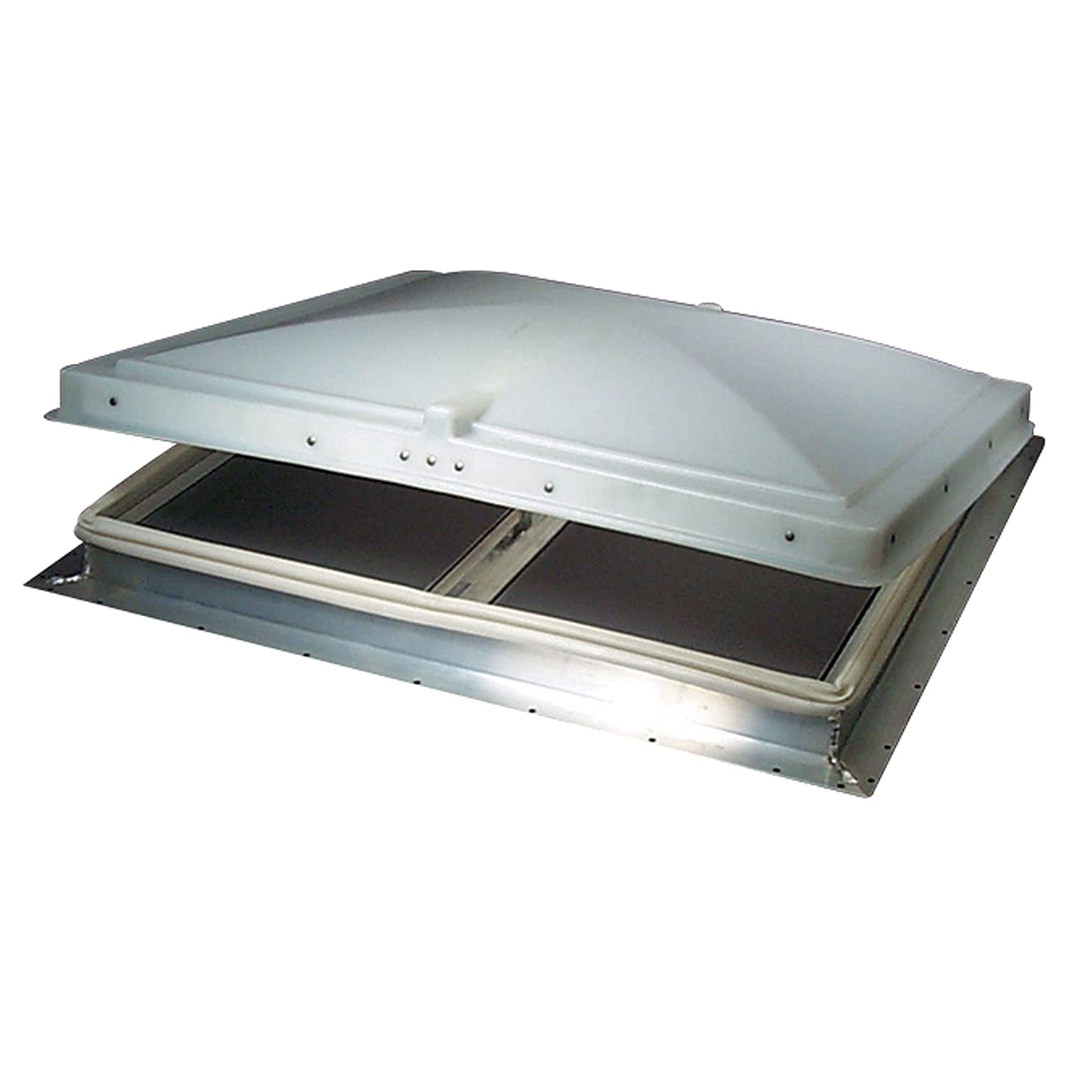 Heng's 68631-2 26' X 26' Elixir Escape Hatch with 2' White Metal Garnish Heng' s 0503.1002