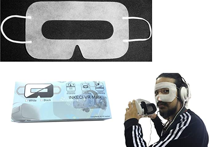PlayStation //Gear VR Headset for HTC Vive Disposable Facial Mask Oculus Rift