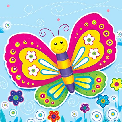 Arohi Art World, Butterfly Painting For Kids Room Wall Decor Wall Hangings  Baby Room Decor