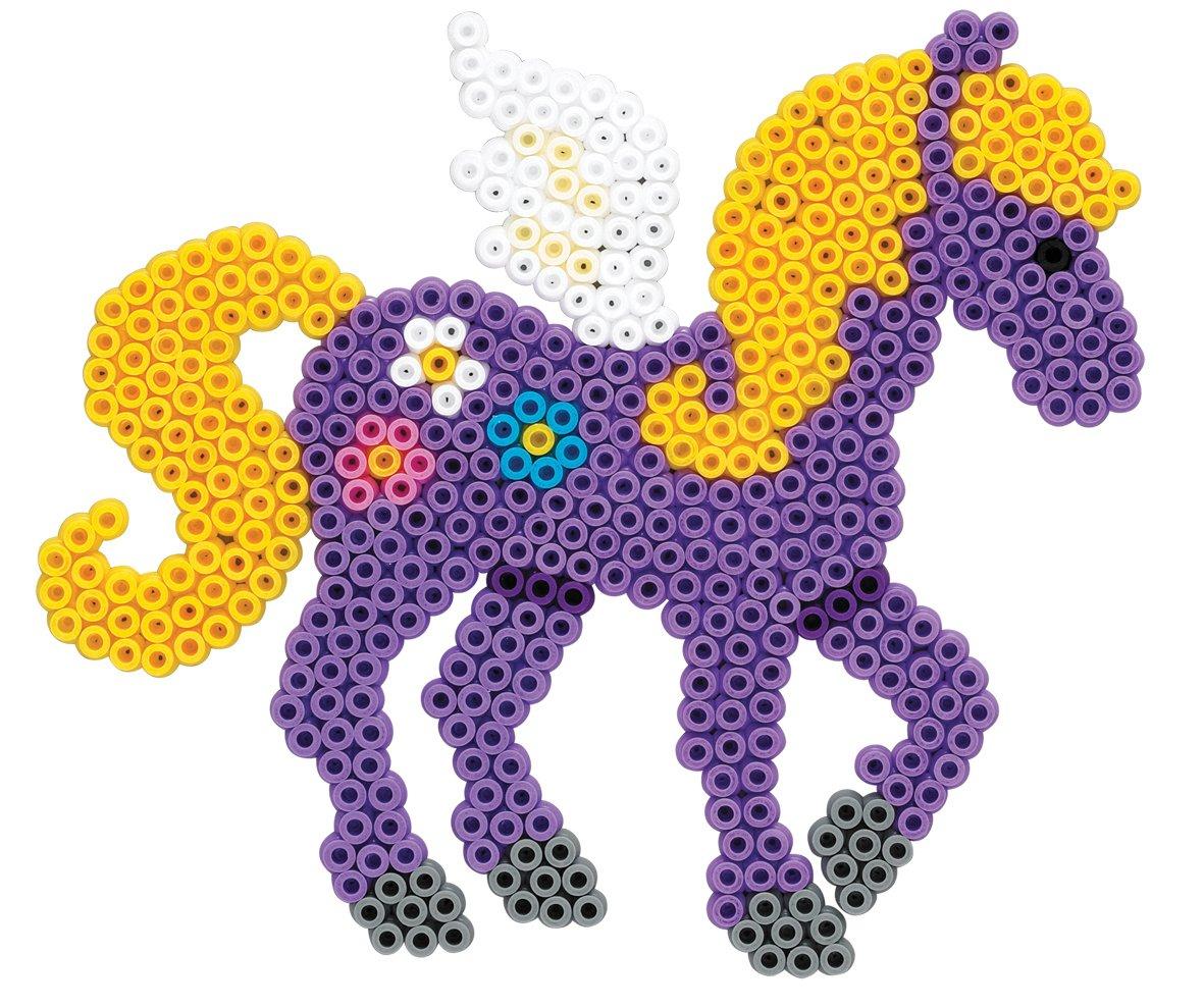 207-24 Midi Sachet 1000 Perles Hama Loisir Cr/éatif Violet Transparent