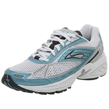 3993d9068a2cf Amazon.com | Brooks Women's Adrenaline GTS, White/Teal/Mag | Running