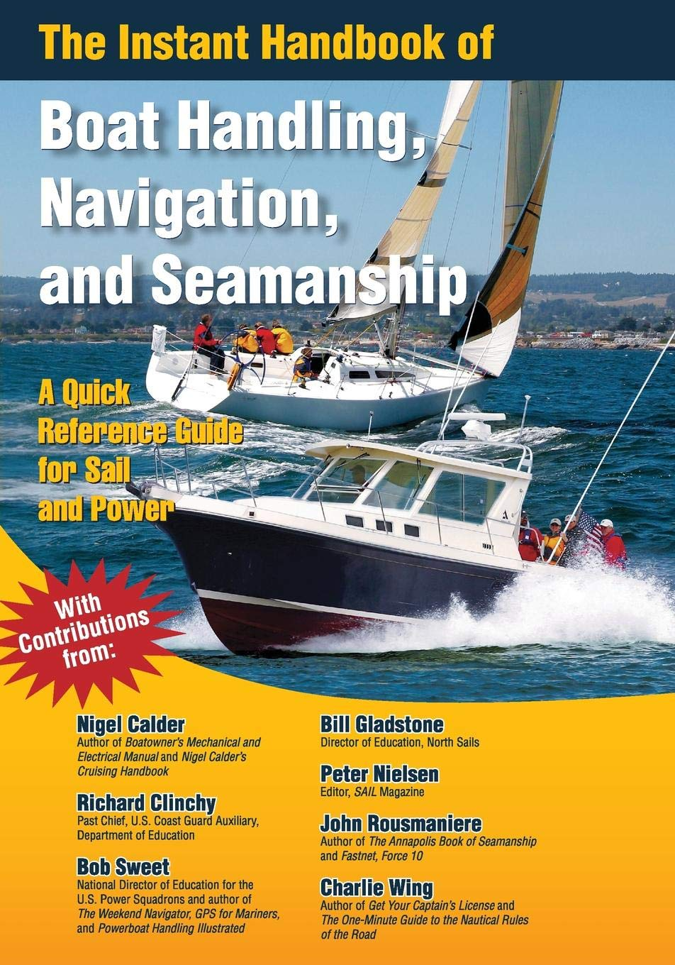 The Instant Handbook of Boat Handling, Navigation, and Seamanship: A Quick-Reference Guide for Sail and Power by International Marine/Ragged Mountain Press