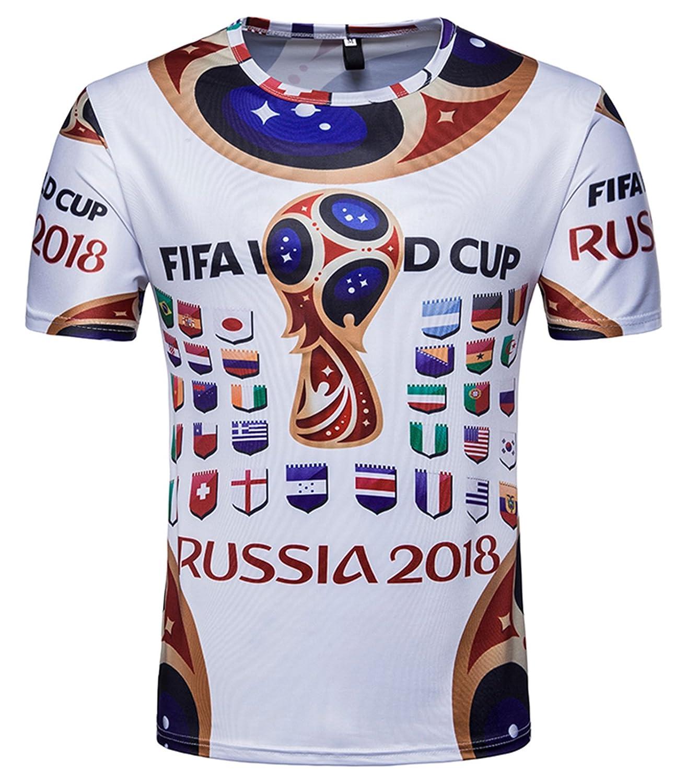 Russland  Fanshirt Trikot WM2018 S M L XL XXL