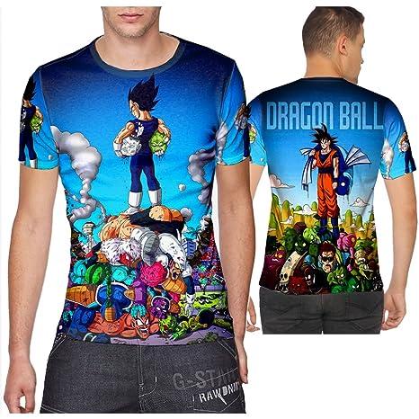 d3d9fd3d Black Goku Super Saiyan Dragon Ball T-shirt print Sublimation PullOver  sizes: S to