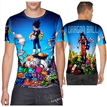 Amazon.com : Black Goku Super Saiyan Dragon Ball T-shirt print ...