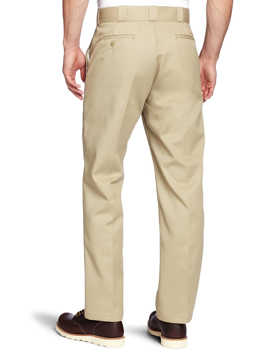 c04c044cd09 Amazon.com  Dickies Work Clothes  Men s Stain Release Khaki Work Pants  874KH - 46x30  Clothing