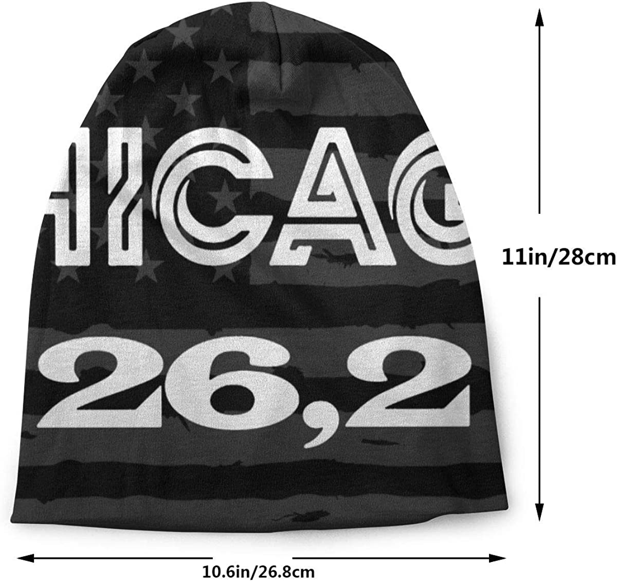 Men /& Women Puerto Rico Black /& White Protest Flag Outdoor Wool Beanies Hat Soft Winter Knit Caps