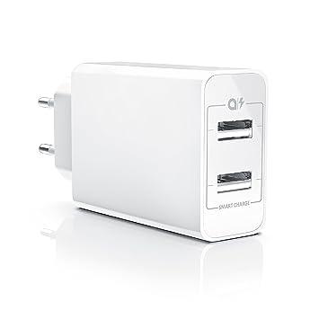 aplic - Cargador USB con función de Carga rápida Quick ...