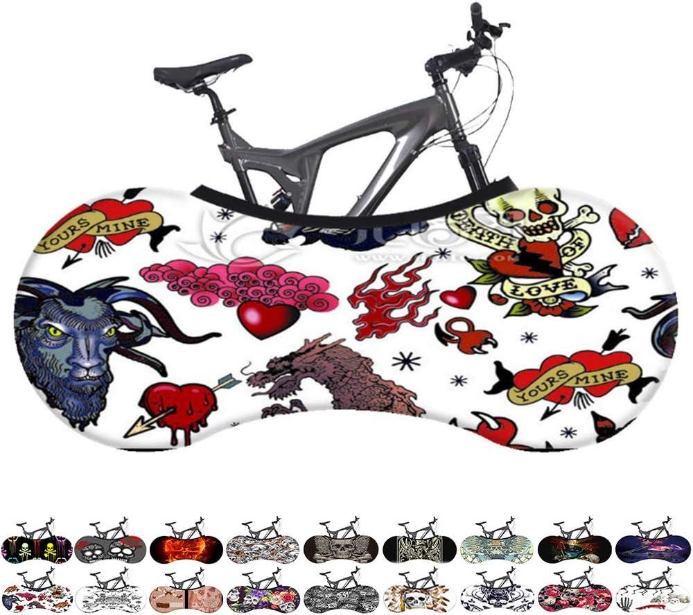 Funda Cubre Bicicletas para Interiores,Bicicleta Exterior ...