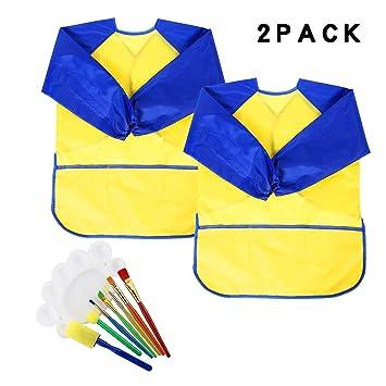 Pinceles de esponja para parachoques con suministros de dibujo y pintura: Amazon.es: Hogar