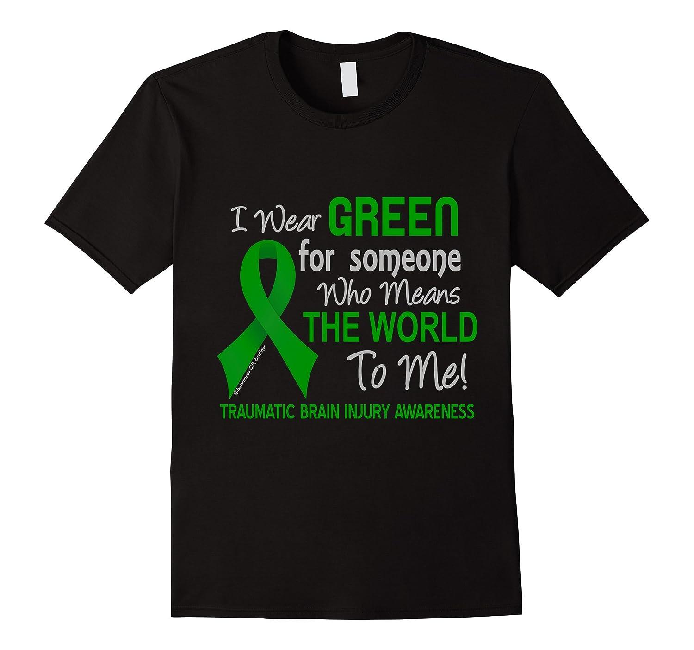 Traumatic Brain Injury T-Shirt For Someone Who Means World-TJ