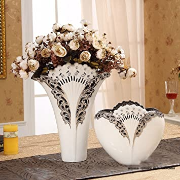 Amazon Home Decorations Living Room Vase Simulation Flower