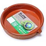 Graupera スペイン製 カスエラ テラコッタ 陶器 オーブン 直火可 土鍋 アヒージョ グラタン 鍋 17cm