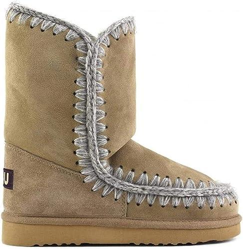 Mou Women S Bottes Femme En Daim Boots Beige Grey Brown Size 12 Amazon Co Uk Shoes Bags