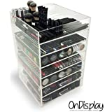 OnDisplay 7 Tier Acrylic Cosmetic/Makeup Organizer