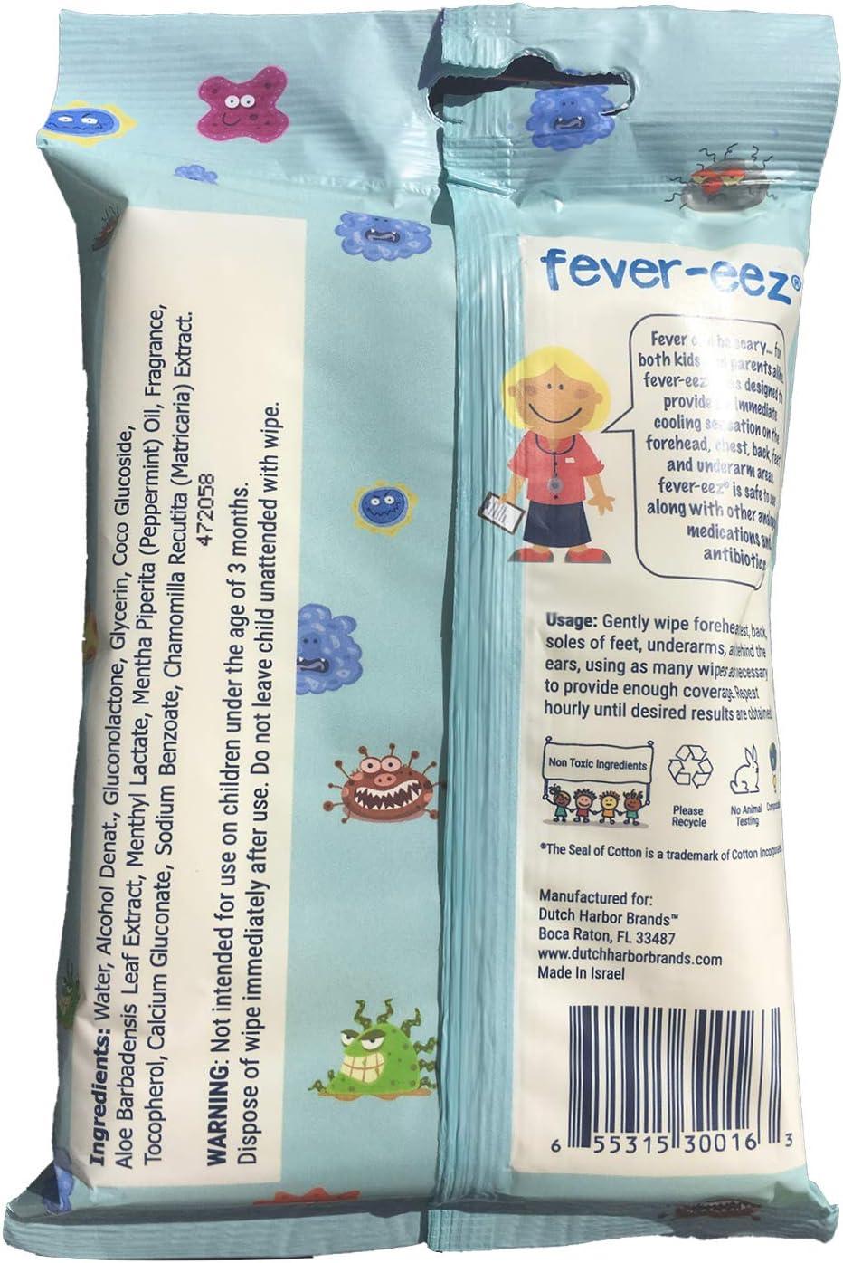 Natural Essentials Cool Care de tout Fever-Eez et corps de refroidissement lingettes pour les enfants et les b/éb/és 32 Count 1