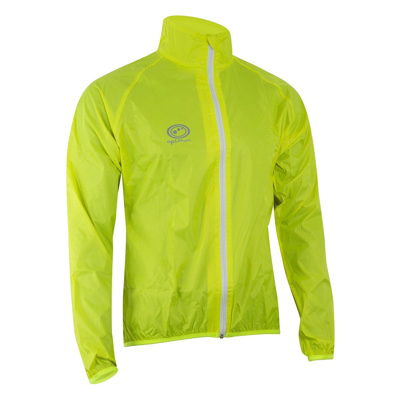Medium Optimum Mens Hawkley Rain Jacket Green Medium with Optimum Mens Hawkley Cycling Waterproof Pants Black